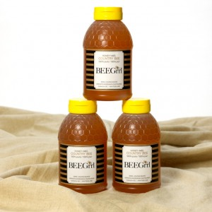 BEEGrrl 100% pure honey from Beamsville, Niagara, Ontario, Canada 500g squeeze jar